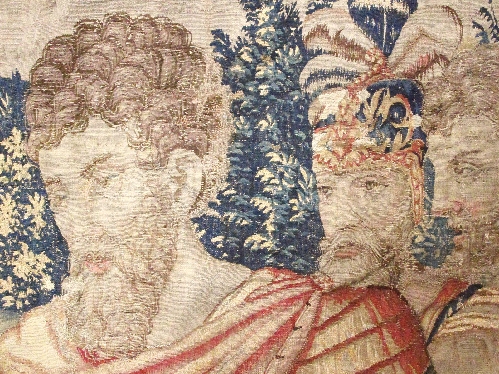 Historical Late 16th Century Brussels Tapestry Turco