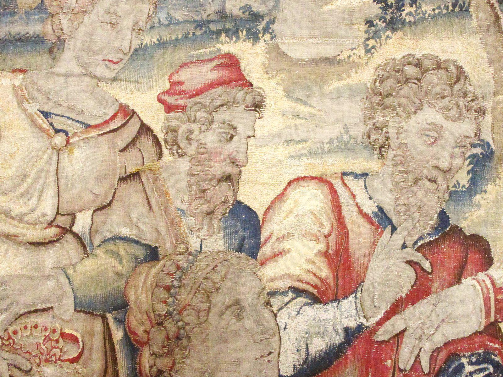 Historical Late 16th Century Brussels Tapestry