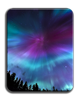 Aurora Blue Ice Cutting Board