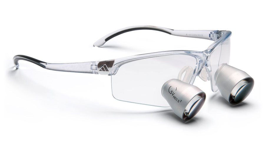 Lupenbrille Carl Zeiss Adizero SV-HD 3.5x (Transparent)