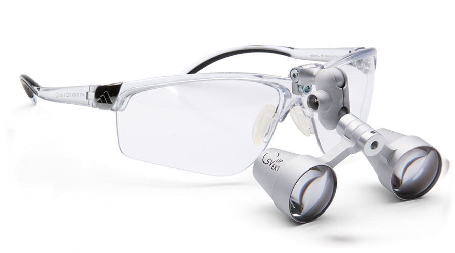 Lupenbrille Carl Zeiss Adivista SV-UP Flipup 3.0x (Transparent)