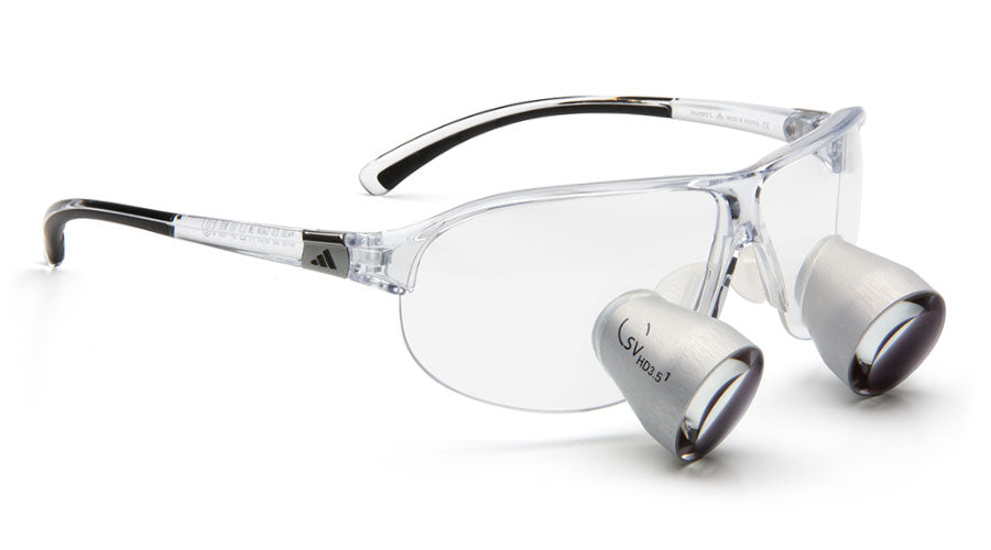 Lupenbrille Carl Zeiss Tourpro SV-HD 3.5x (Transparent)