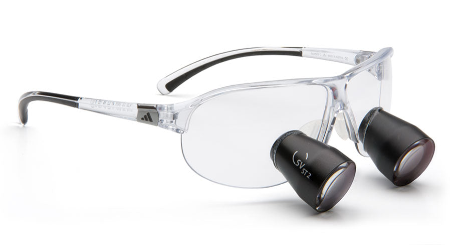 Lupenbrille Carl Zeiss Tourpro SV-ST 2.5x (Transparent)