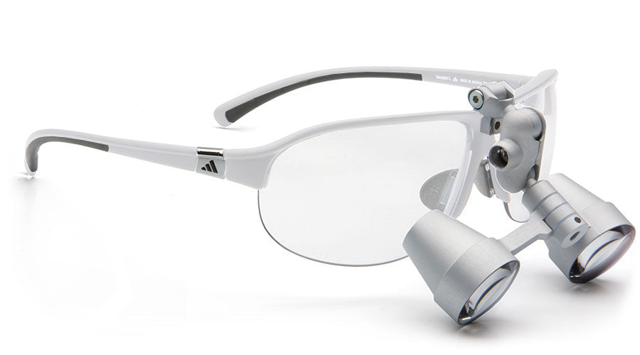 Lupenbrille Carl Zeiss Tourpro SV-UP 3.0x Flipup (Weiss)