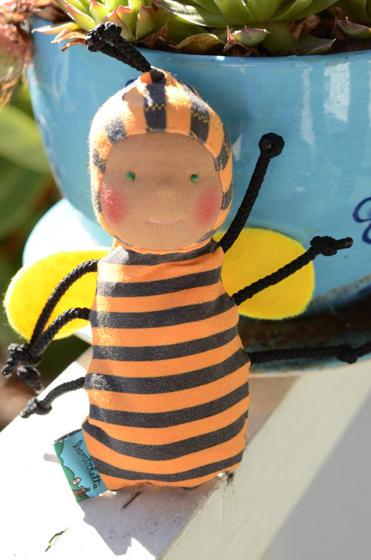Special Edition Nubbin Baby Bugs - Bumble Bee - DT with Green Eyes