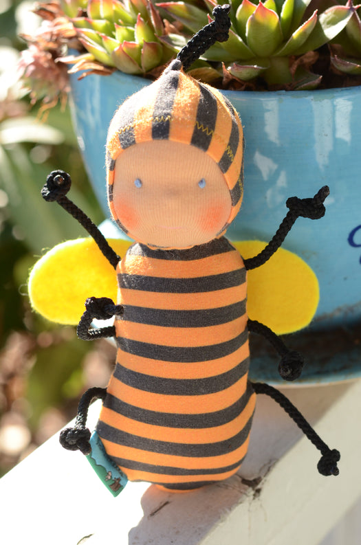 Special Edition Nubbin Baby Bugs - Bumble Bee - SK with Blue Eyes