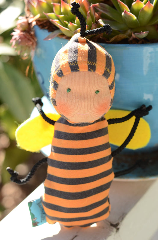 Special Edition Nubbin Baby Bugs - Bumble Bee - SK with Green Eyes