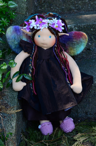 Special Edition Woodland Faerie Forever Friend - Elowen
