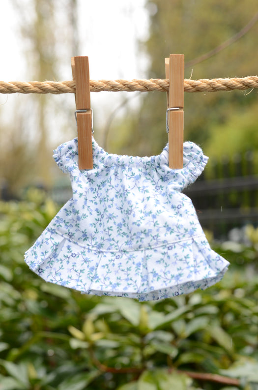 Picco/Little Buddy Dress - Blue Floral