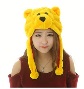 Plush Animal  Beanie Hat | Emailgroupie Education