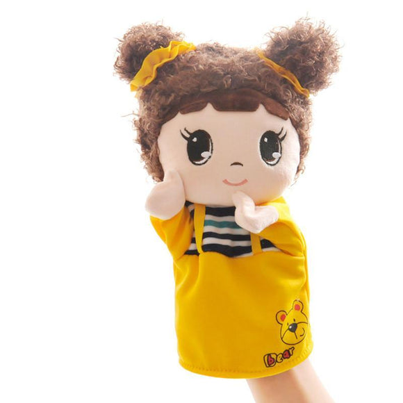 Pigtail Doll Hand Puppet - emailgroupie-education