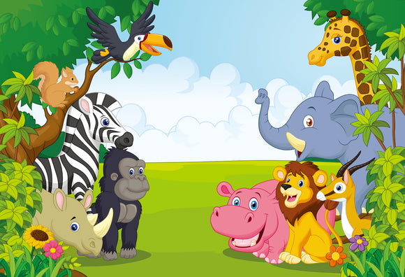Jungle Safari Background | Emailgroupie Education