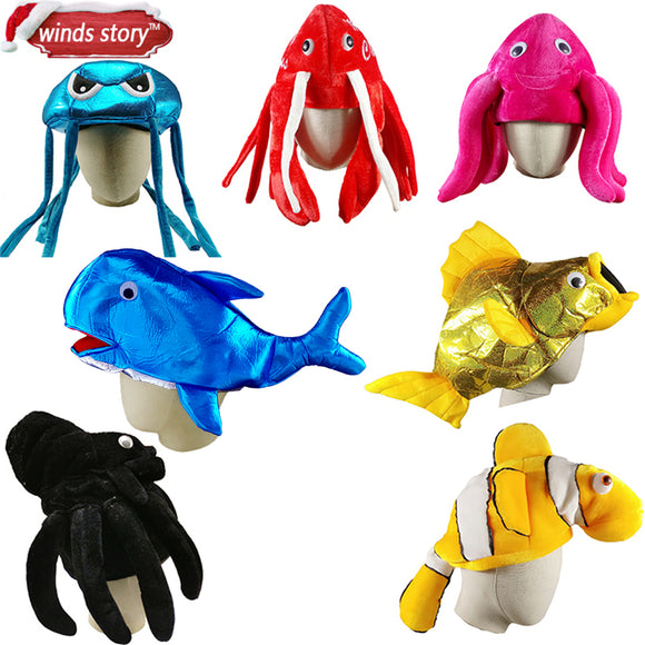 Marine Animal Hat | Emailgroupie Education