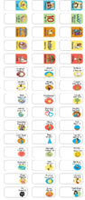Load image into Gallery viewer, New! Bible Story Tabs - Set of 90 sticker tabs to add to your Bible for quick reference.