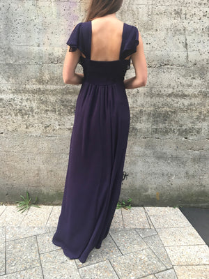 Skydler gown - royal purple