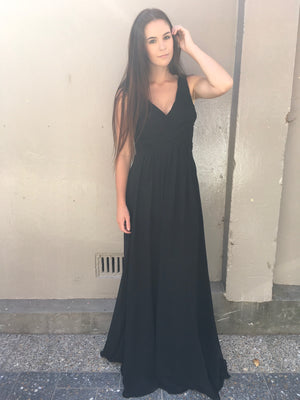 Skylife gown - black