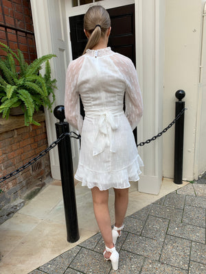 Lizzie dress - white