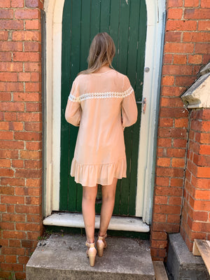 Elizabeth tunic - cream