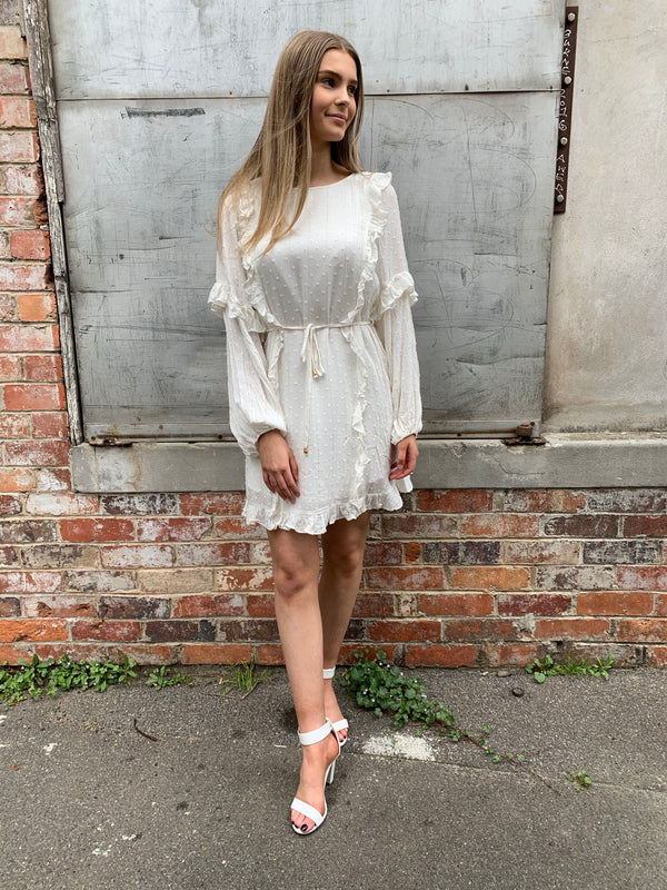 Chenoa dress - white