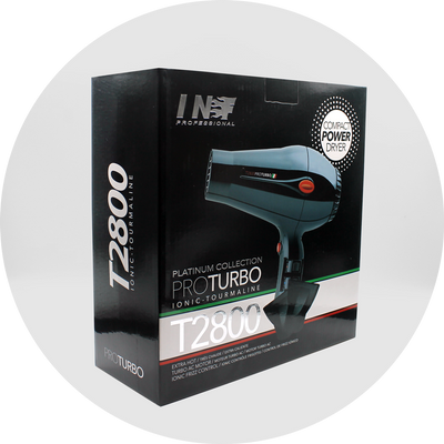 INF T2800 Compact Turbo Hair Dryer
