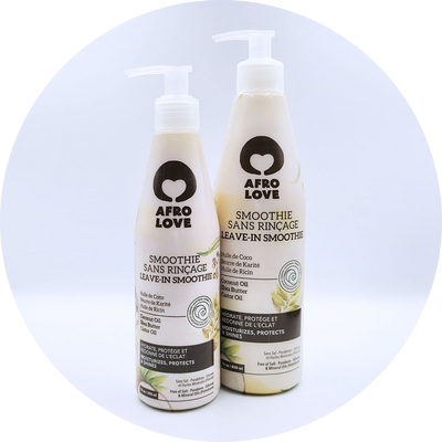 Afro Love Leave-In Smoothie, 10 oz and 16 oz bottle