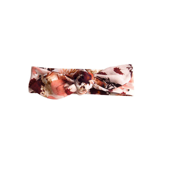 Phoenix and the Fox Lea Headband - Dahlia Flamingo