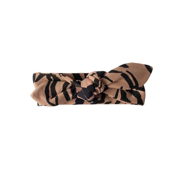 Girls Lea Headband - Tiger Stripe