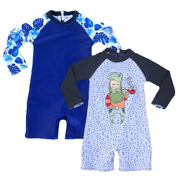 ArchNOllie Reversible Rash Suit - Sailor Ice