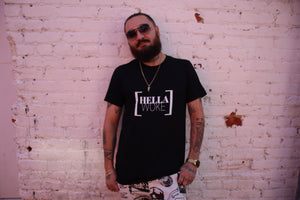 "The ""HELLA WOKE"" Short-Sleeve Men's T-Shirt"