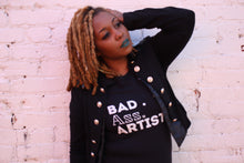 "Load image into Gallery viewer, The ""BAD ARTIST"" Women's short sleeve t-shirt"