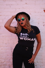 "Load image into Gallery viewer, The ""BADDIE"" Women's short sleeve t-shirt"