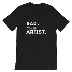"The ""BAD ARTIST"" Short-Sleeve Men's T-Shirt"