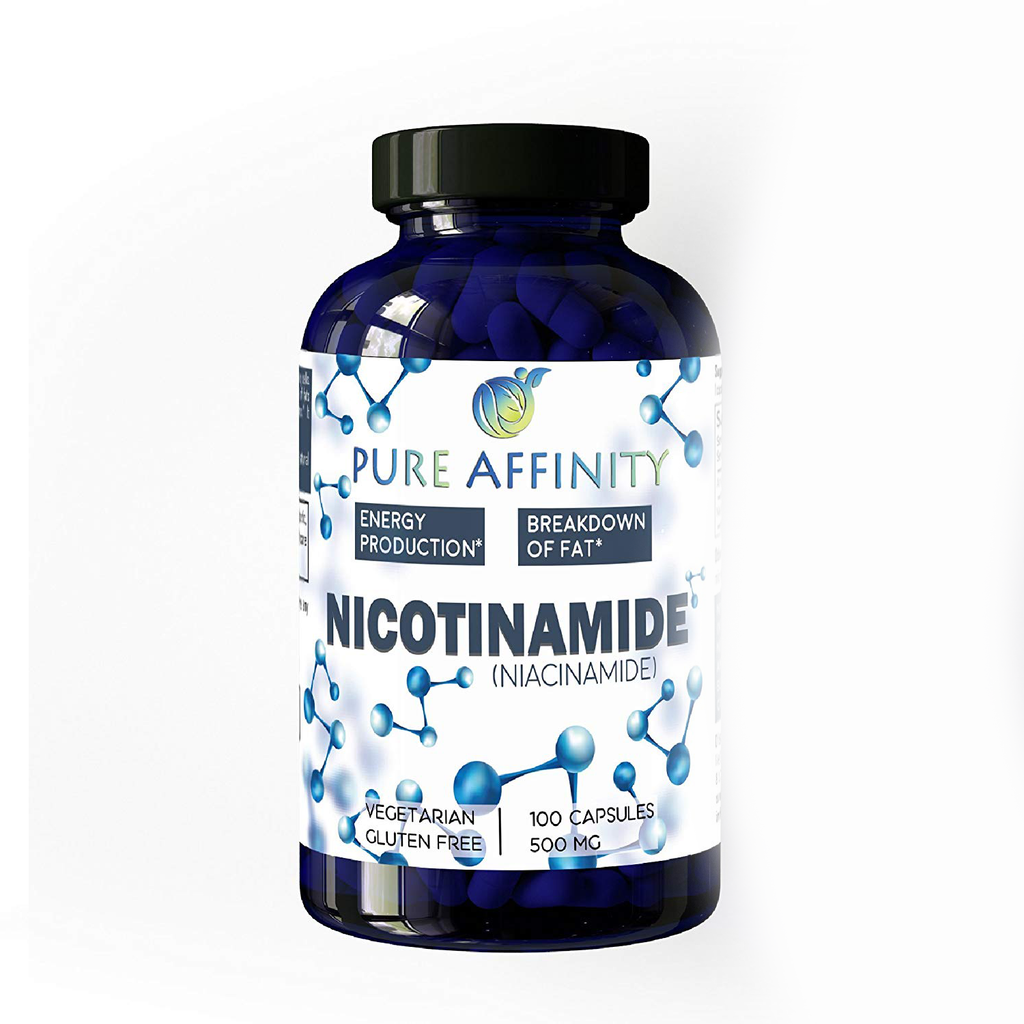 Nicotinamide 500mg 100 Ct Bottle