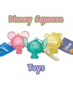 Rare Cute Disney Characters Squeeze toy!