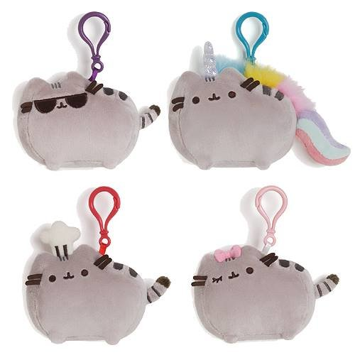Pusheen Backpack Clip Stuffed Animal