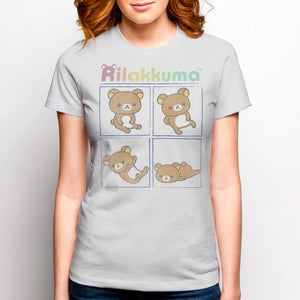 Rainbow Rilakkuma Relax Days T-Shirt