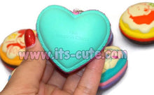 Rare 2014 Scented Disney Macaron Squishy with Ball Chain!