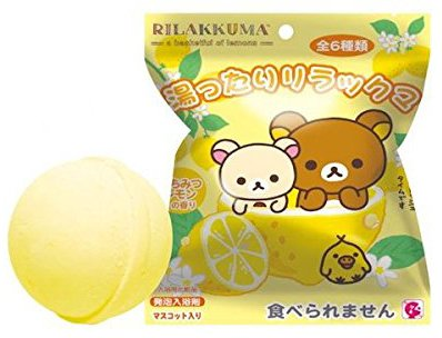 Rilakkuma A Basketful Of Lemons With Toy Inside