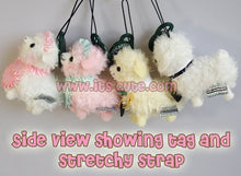 8cm Mini Alpacaffe Coffee Kids Alpacasso Alpaca Doll