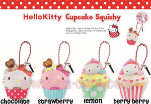 Sanrio Hello Kitty Cupcake Squishy Front