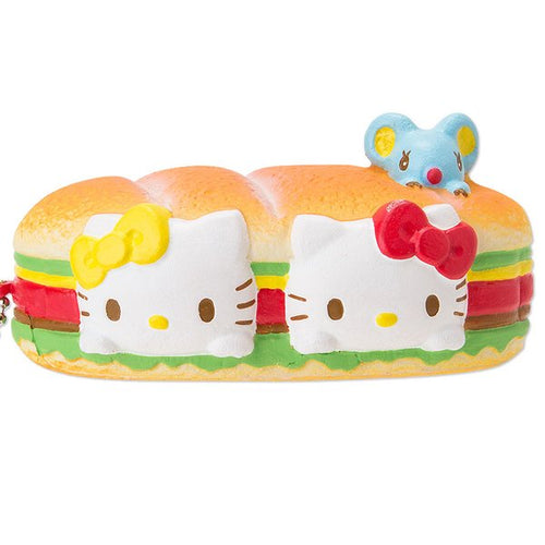 Bakery Character Panini Sandwich Squishy Front