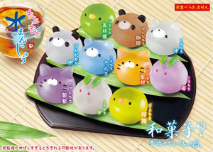 Mochi Rice Cake Water Steam Buns Squishy