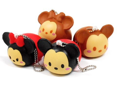 Scented Disney Tsum Tsum Mickey & Minnie Mouse Squishy.