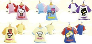 Rare 2011 Sanrio Characters By PansonWorks T-shirt Squishy with Ball chain.