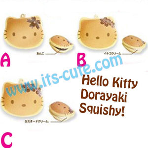 Rare Sanrio Hello Kitty Doriyaki Squishy