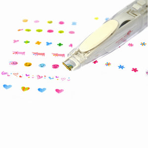 Plus Deco Rush Decoration Tape Pen: Dinosaur