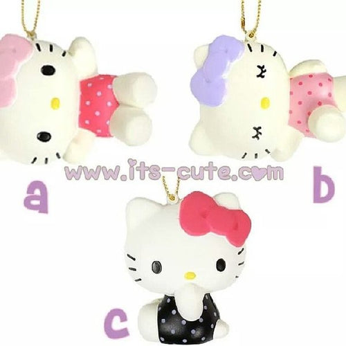 Rare Hello Kitty Pose Squishy  Group