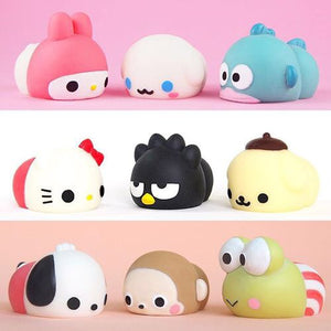 Sanrio collab with Moniamals squishy squeeze toys!