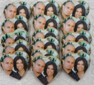 The Personalized Sweetheart Photo Cookie Box