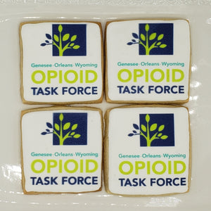 Quantity Custom Logo Cookies to Celebrate Your Business or Organization, Any Shape